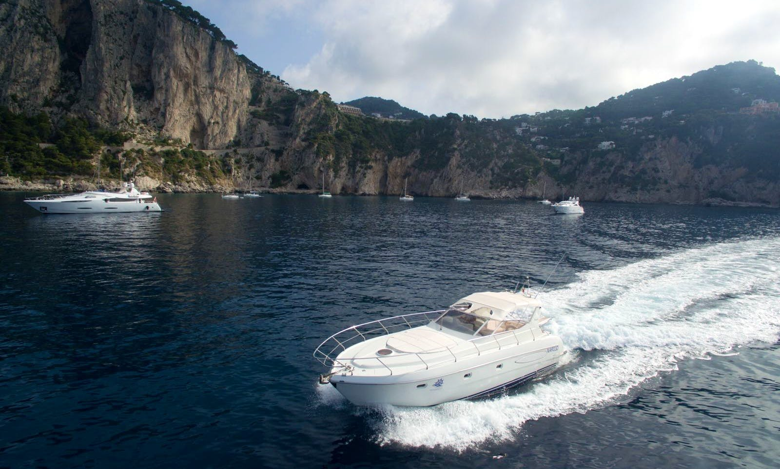 Raffaelli Shamal 45 Motor Yacht in Sorrento, Italy