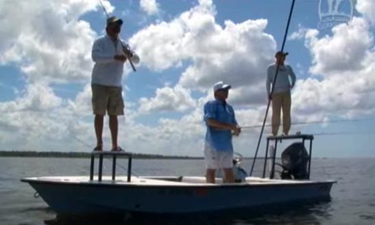 Fishing Trip In Steinhatchee, Florida  With Captain Scott