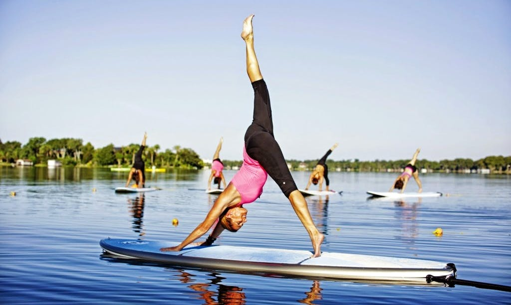 Enjoy Stand Up Paddleboard Yoga And Lessons in Istanbul, Turkey
