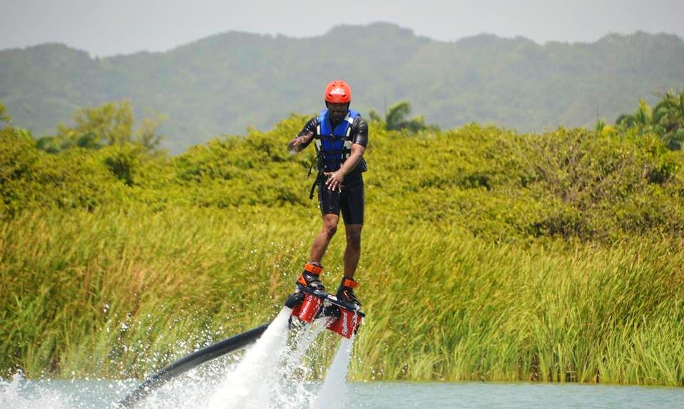 Flyboarding Lessons in Sosúa, Dominican Republic