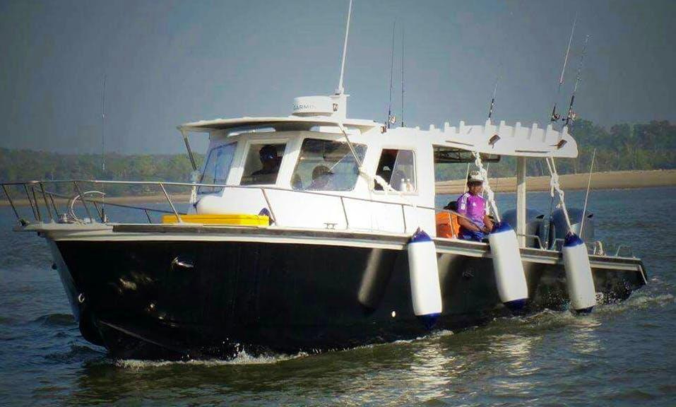 6 Persons Cuddy Cabin Fishing Charter in Kuala Rompin, Malaysia