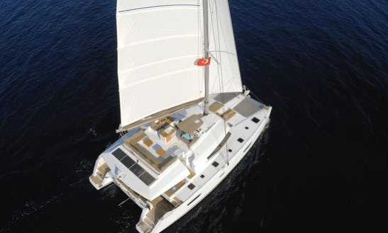 All-inclusive Chartered Lagoon 620 Bvi Sailing Vacation For Up To 12!