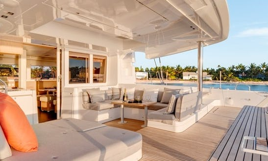 An All-inclusive Week-long Vacation Aboard My Lagoon 52 In Bvi!