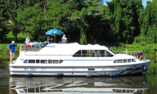 Enjoy The Medieval Cruise Aboard The 6 Person Motor Yacht In France