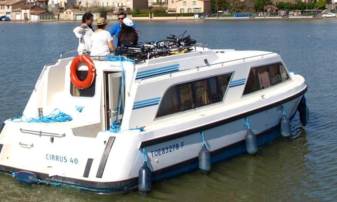 "Enjoy a Camargue Short Break Vacation on a ""Cirrus A"" Canal Boat"