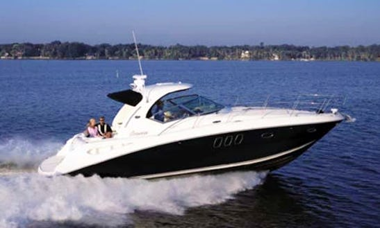 Charter Sea Ray 38 Cuddy Cabin In Cartagena For Up To 13 Of People Your Next Boating Adventure