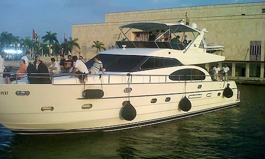Have An Amazing Time In Cartagena, Colombia On Vitek 74 Power Mega Yacht