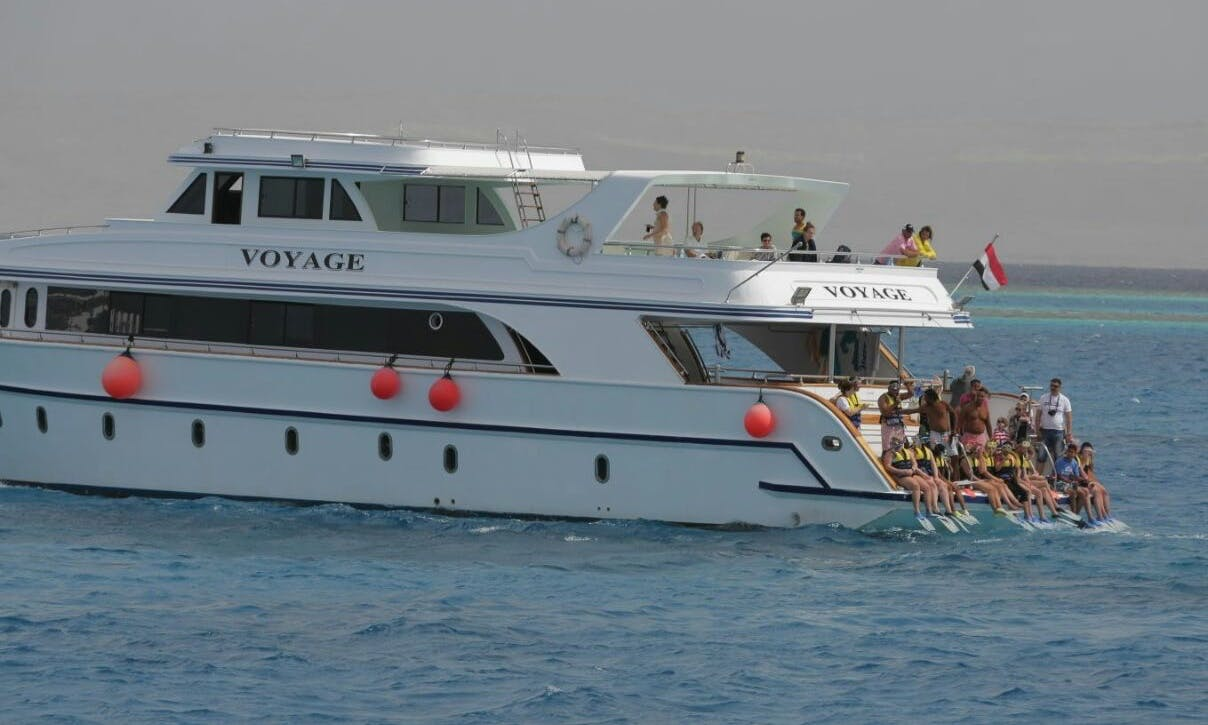 """""""Voyage"""" Power Mega Yacht Charter in Red Sea Governorate, Egypt"""