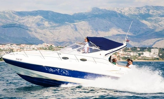 Explore Split, Croatia Aboard This Beautiful Salpa Laver 31.4 Motor Yacht