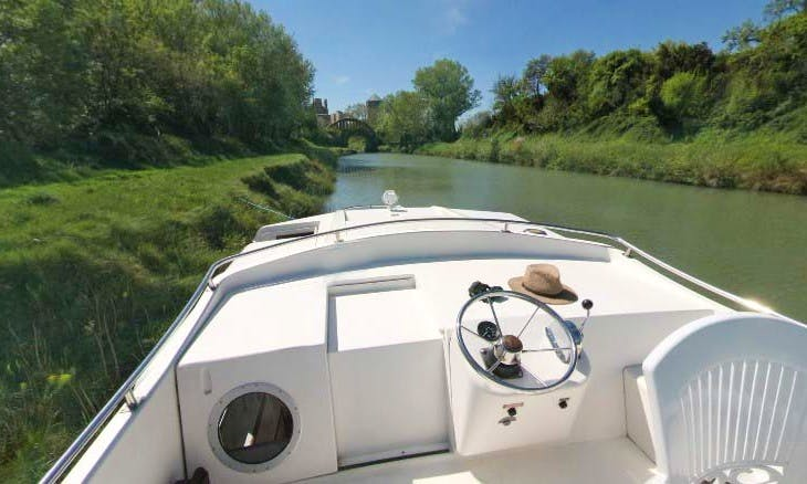 Beautiful 37' Canal Boat in Nivernais, France | The Renaissance Cruise