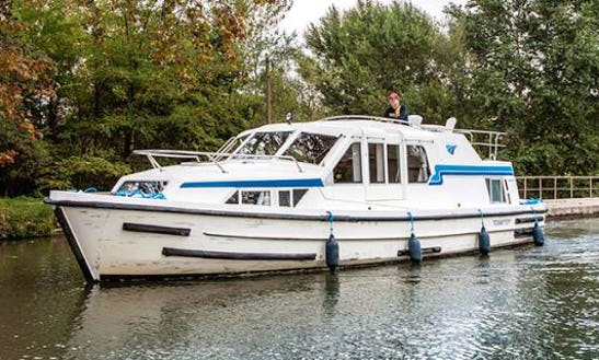 Great Boating Vacation In Burgundy, France!