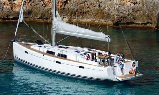 Awesome Sailing Charter In Hurghada, Egypt Aboard Yanoosa Hanse 415