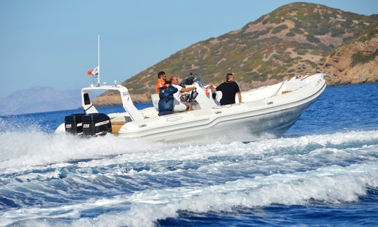 Top Gun 31 Rigid Inflatable Boat Available For Charter In Paros, Greece