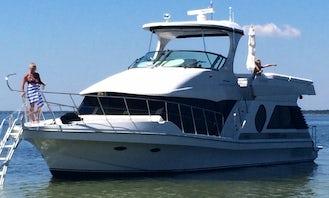 2002 Bluewater Liberty Motor Yacht Charter in Gulf Breeze, Florida