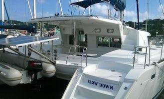 Lagoon 440 Yacht in Saint Lucia Rodney Bay Marina