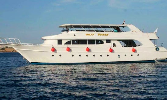 Explore Red Sea Governorate, Egypt Aboard This Luxurious Enjy Queen Motor Yacht