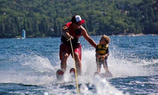 Try Skiing On Water With Our Superb Waterskiis In Jelsa, Croatia