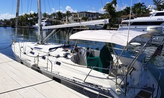Charter A Laid Back 30' Sloop-rigged S-2 Sailboat In Miami, Florida