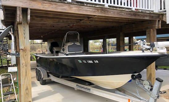Center Console Fishing Charter In Galveston