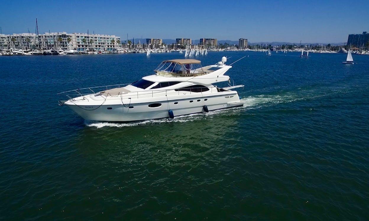 Amazing Motor Yacht in Marina del Rey