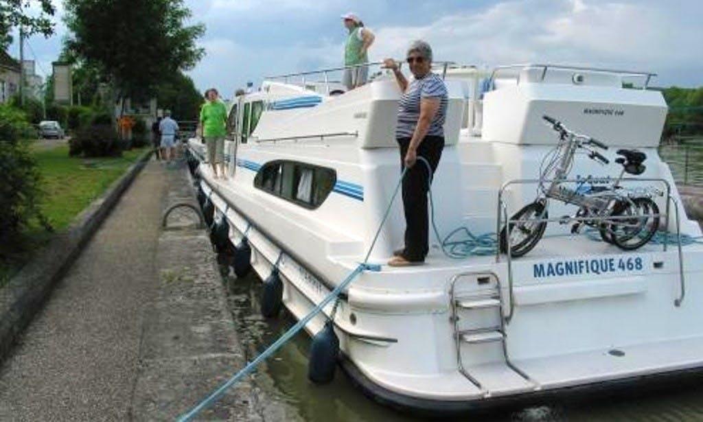 Enjoy Canal Cruise in Burgundy, France