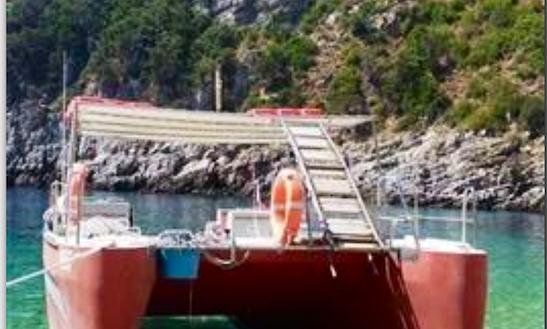 Power Catamaran Rental In Himarë