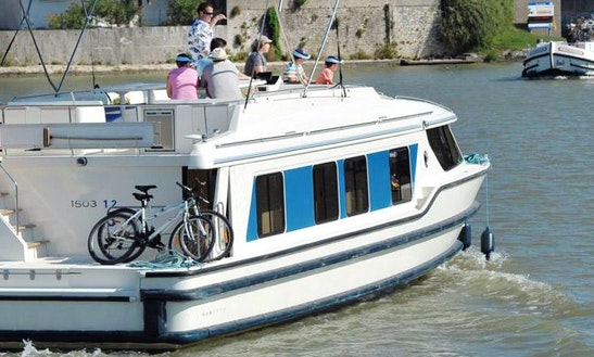 49' Canal Boat For 9 Person | The Cathar Cruise In Canal Du Midi, France