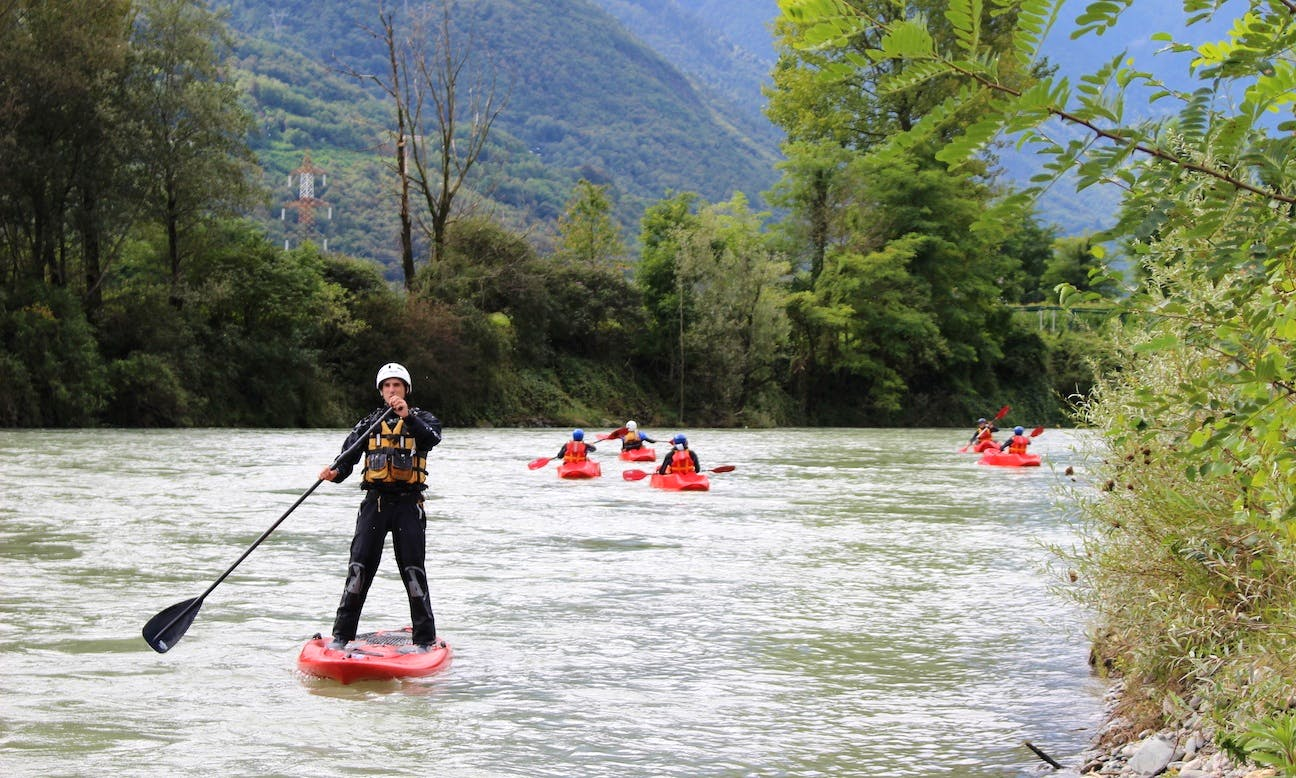Stand Up Paddleboarding Rental in Lombardia, Italy