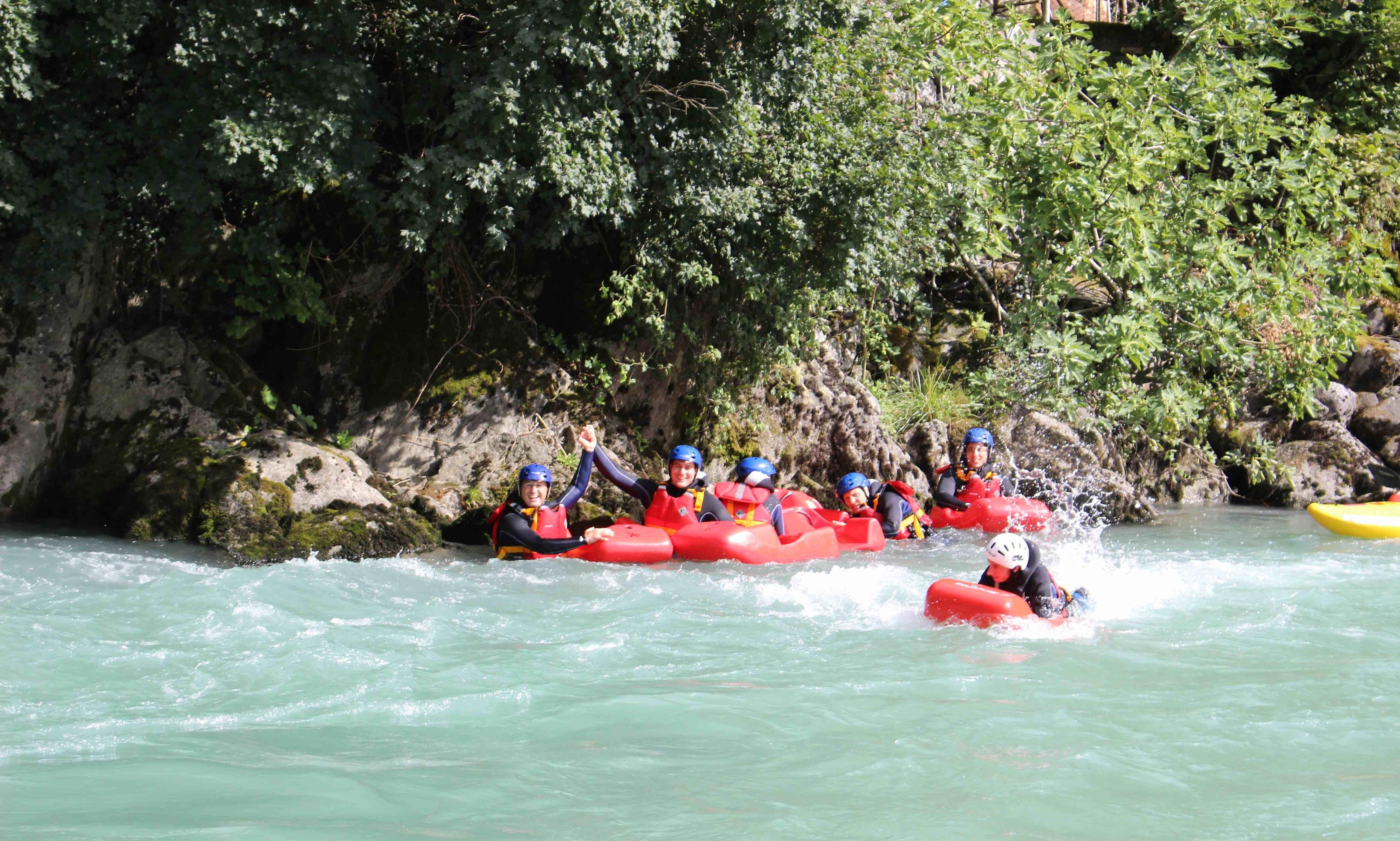 Book a Hydrospeed Fun in Lombardia, Italy