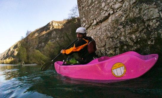 Kayak Fun Survival X - Castione Andevenno / Valtellina / Lombardia