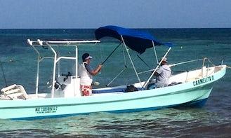 Fish to have a treasuring memory aboard Carmalita II in Playa del Carmen