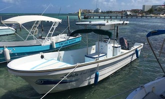 It's time to fish in Playa del Carmen, Mexico! Get ready for a adventurous fishing trip!