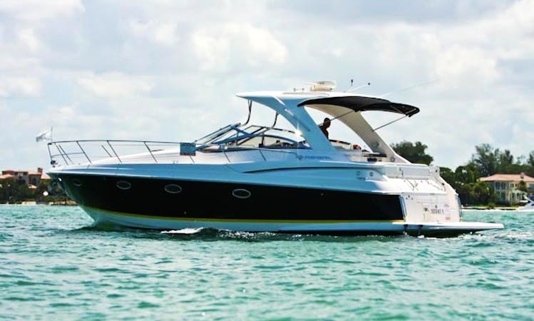 Charter a 6 person Regal 4060 Motor Yacht in Sarasota, Florida
