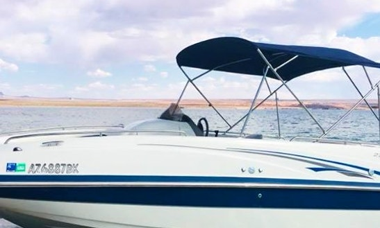 Enjoy Lake Powell In This 222 Tahoe Deck Boat