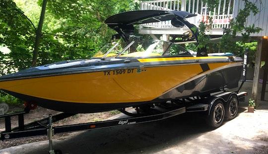Wakeboard Boat Rental Or Wakesurf Lessons In Austin And Lake Travis 2016 Tige Z1