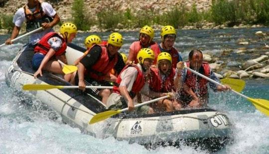 Enjoy Rafting With Your Friends In Antalya, Turkey