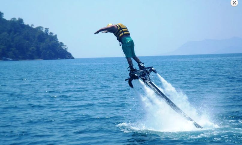 Experience The Thrill Of Flyboarding in Antalya, Turkey