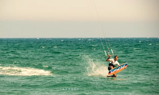 Fly Like A Bird With Our Kiteborad In Karavostasi, Cyprus