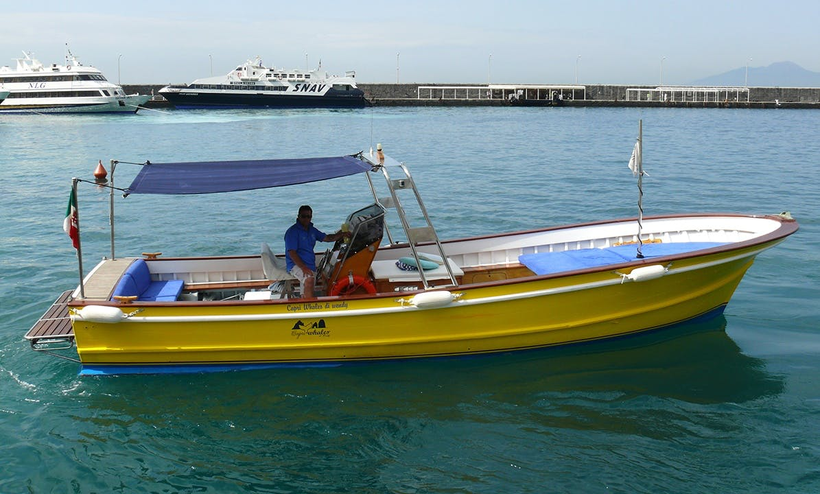 """Have an amazing time in Capri, Campania on 33' """"Kayla's Vittoria"""" Center Console"""
