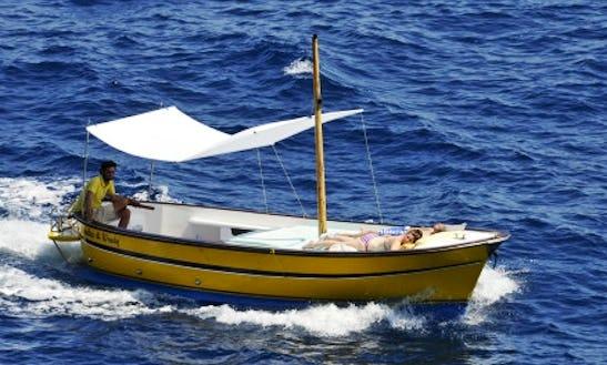 Gozzo 7.5 Mt Cape Cod Charter In Capri, Campania