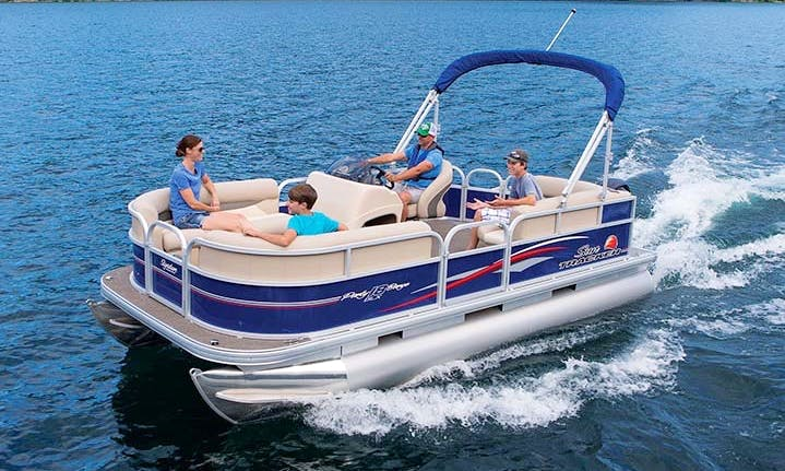 Pontoon Boat Rental for Lake Athens TX, Cedar Creek Lake TX, Lake Palestine TX