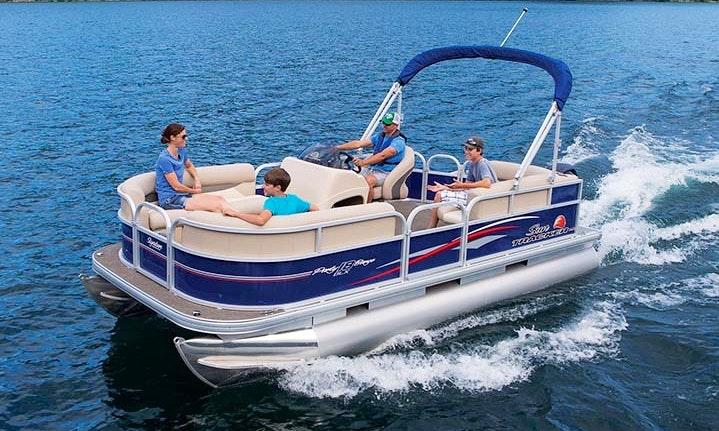 Nice Pontoon Boat Rental For Lake Athens Tx Cedar Creek Reservoir Tx Cruising Exploring Fishing