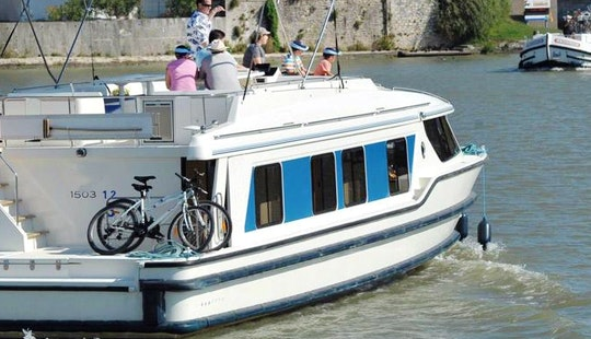 Canal Boat Rental In Homps