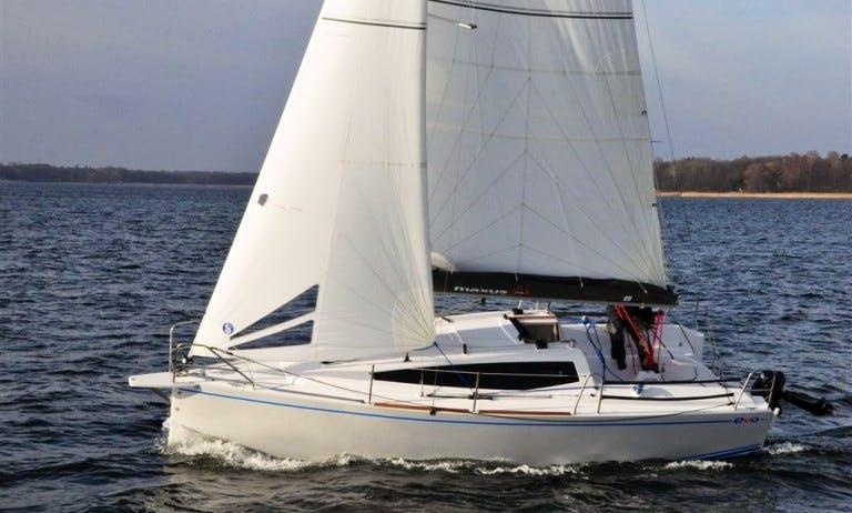 Maxus Evo 24 Sailboat Charter in Wilkasy, Poland