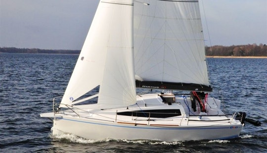 Maxus Evo 24 Sailboat Charter In Wilkasy, Poland