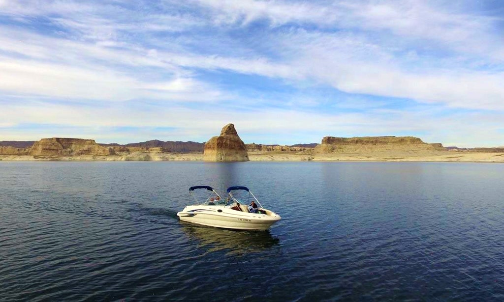 Lake Powell Motor Boat