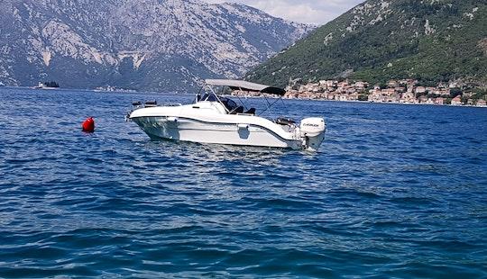 Deck Boat Rental In Herceg - Novi