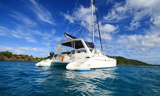 Leopard 43 Sailing Catamaran with USCG Certified Captain and Crew in Ceiba, Puerto Rico