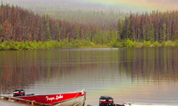 Hire a 12' Boat for 4 People in Vanderhoof, British Columbia