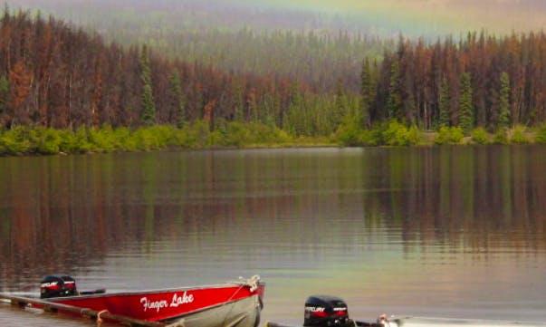 Hire a 12' Boat for 4 People in Vanderhoof, British Columbia